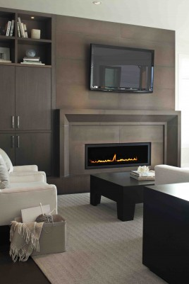 Two Solus Fireplaces in Millionaire Designer Home Lottery
