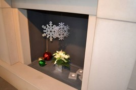 Decorating your Fireplace for the festive season is great fun.