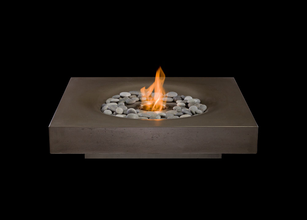 Solus contemporary fire pit accessories for Alcohol fire pit
