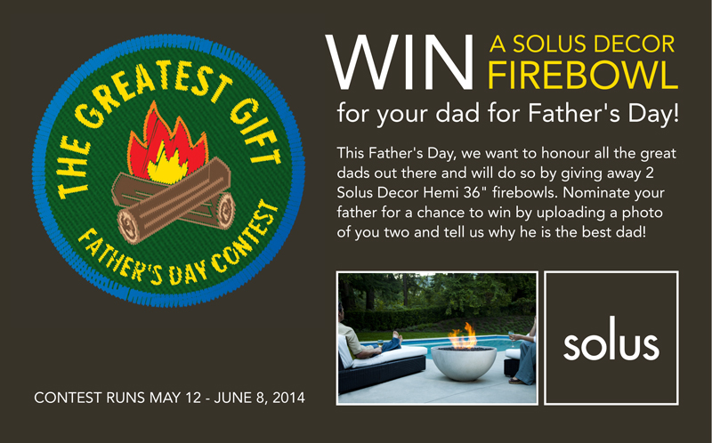 The Greatest Gift Father's Day Contest
