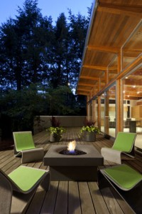 Solus Elevated Halo Firepit