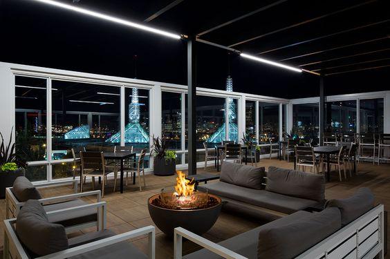 Altabira City Tavern, Hotel Eastlund with Hemi Fire Bowl