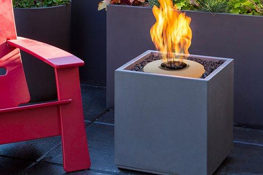 Solus Decor Fire Cube