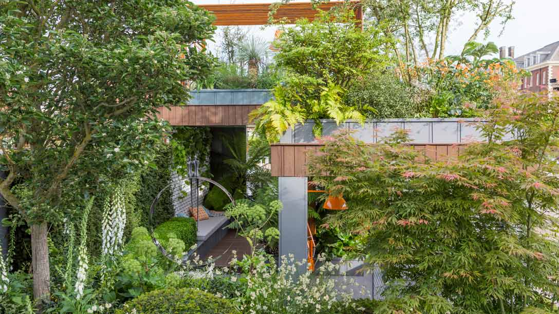 Best Fresh garden by Kate Gould Chelsea Flower Show 2017