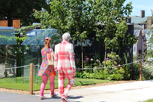 Fashion and Flowers at Chelsea Flower Show