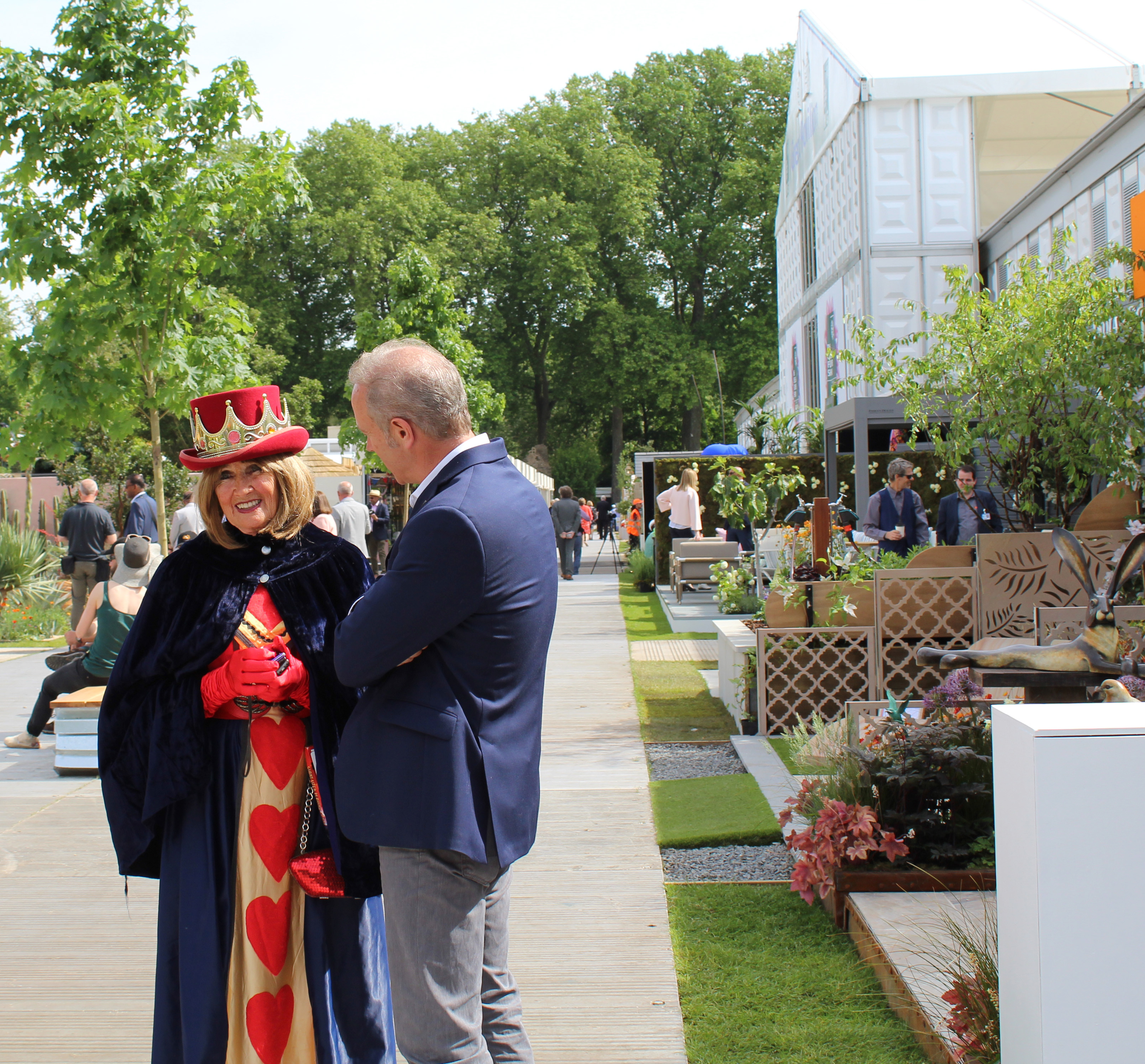 Queen of Hearts at Chelsea Flower Show