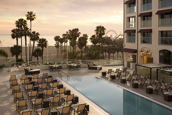 Santa Monica Beach Hotel Pool