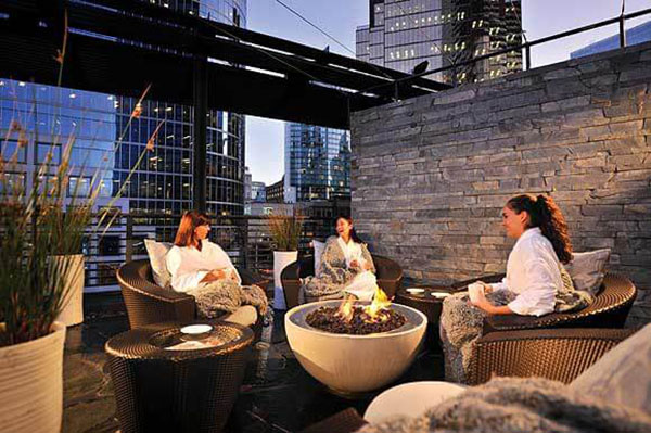 Willow Stream Spa at Fairmont Pacific Hotel