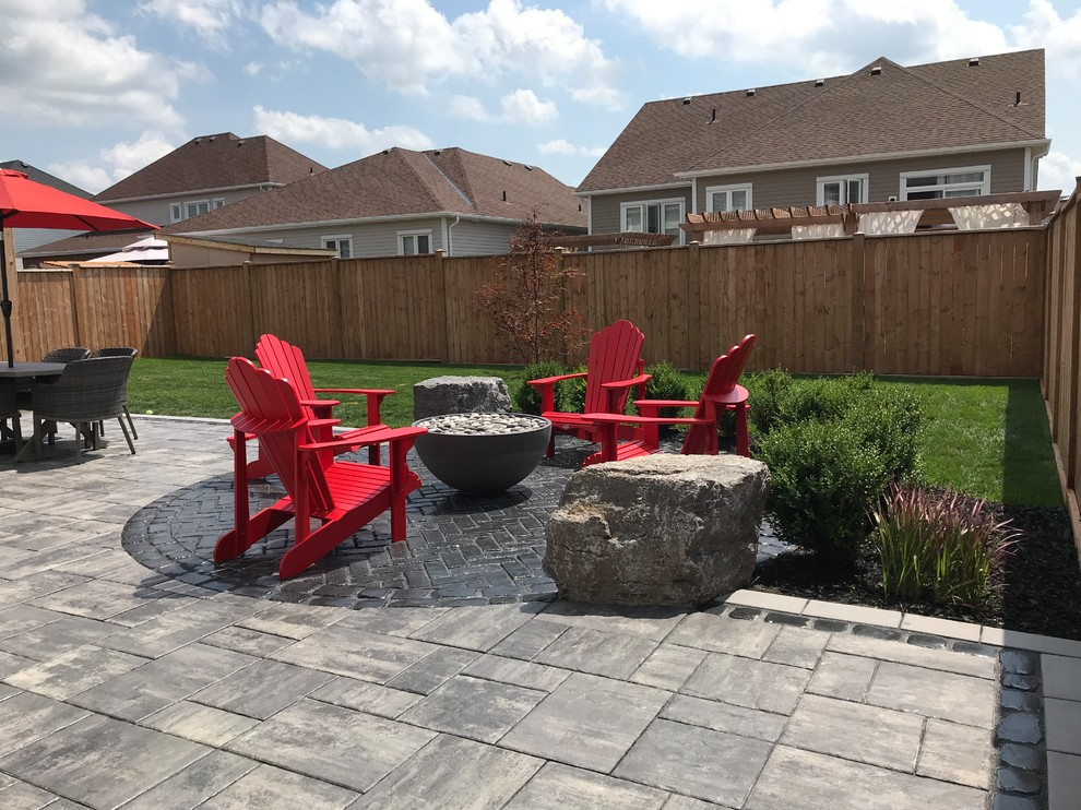 Solus Hemi Gas Firepit in Backyard- marshyd review